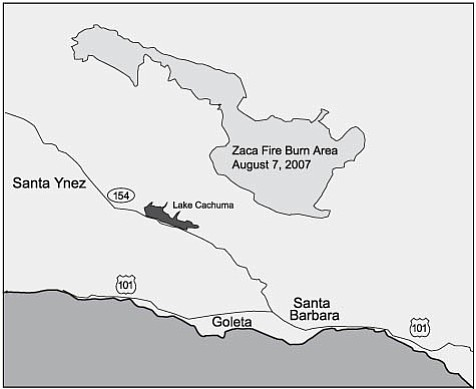 Map of the Fire