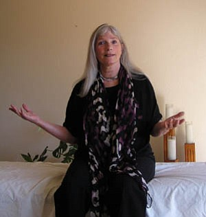 Cynthia Waring Matthews brings the knowledge she has gained through giving more than 25,000 healing massages to the stage when she performs excerpts from her book, Bodies Unbound.