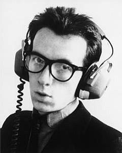 Guitarist, vocalist, and new wave pioneer Elvis Costello.