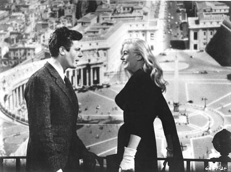 Federico Fellini's <em>La Dolce Vita </em>packs a punch in terms of the number of themes it addresses in its nearly three-hour run time. It screens next week at UCSB's Campbell Hall.