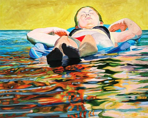 "Cayetana Conrad's ""Girl on Raft"" (2006)."