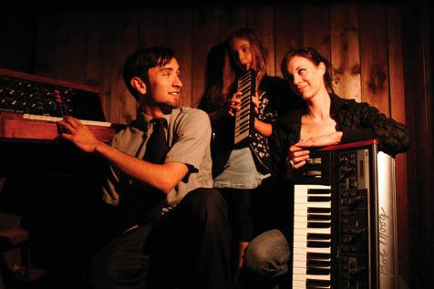 The musical careers of Nick and Anna Montoya of The Volt Per Octaves really took off after getting a regular gig at Elsie's, which led to their entry and subsequent victory at Moogfest.