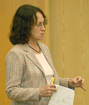 Senior Deputy Public Defender Karen Atkins
