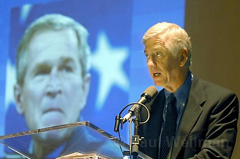 Rocky Anderson says if Bush is not impeached, we're complicit in his crimes.