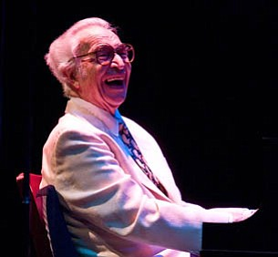 Dave Brubeck made another annual visit to the Lobero, one of his favorite places to play.