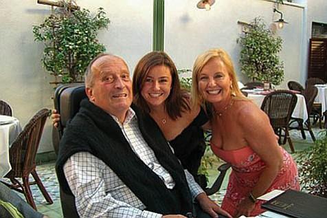 Joe with daughter, Jamie, and wife, Jill.