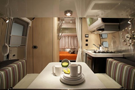 This collaborative effort between Airstream and architect/designer Chris Deam takes the idea of traveling in style to new heights.