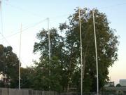 Still more story poles.
