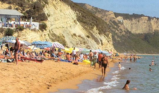 Crowded SB beach