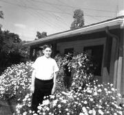 Andrew Ruiz, shown here in a field of flowers-and Kelly's notions of love and understanding have left psychic scars on his young victims that will never go away.
