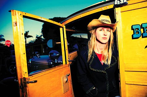 Singer/songwriter Cindy Lee Berryhill coordinated with other artists who, like her, were involved with Neil Young's Living with War Today campaign to create the Songs of Protest series, which makes its fourth stop in Santa Barbara.