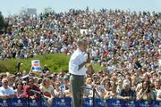 "Barack Obama stops for a ""Grassroots Rally"" at Santa Barbara City College Campus Saturday afternoon Sept. 8, 2007 on his way to a fundraiser at  Oprah Winfrey's house in Montecito."