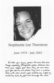 Stephanie Lee Thornton