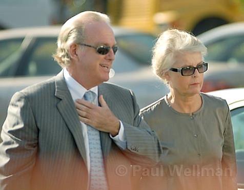 Arthur von Wiesenberger and Wendy McCaw