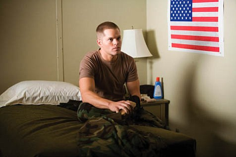 Corporal Penning (Wes Chatham) has seen action in the Balkans and Iraq with his buddy, now missing.