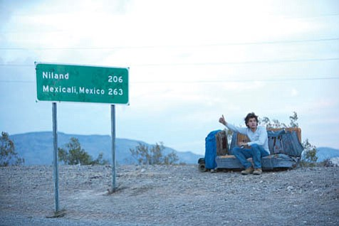 Emile Hirsch, in a breakout role, hitchhikes across America in Sean Penn's Into the Wild.