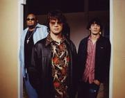 North Mississippi Allstars: Chris Chew, Luther Dickinson, and Cody Dickinson.