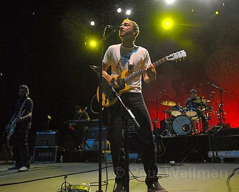Frontman James Mercer wowed the audience with his near-perfect performance at the Bowl last Saturday.