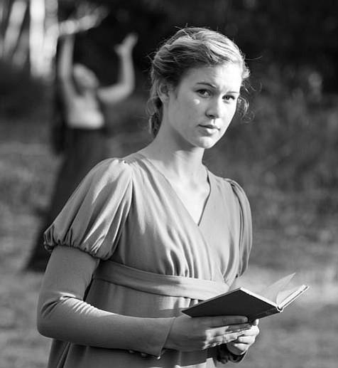 Sarah Halford as Jane Eyre