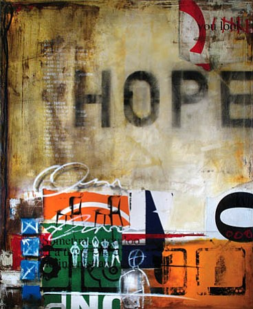 "Ray Phillips's ""Hope II,"" 2007."