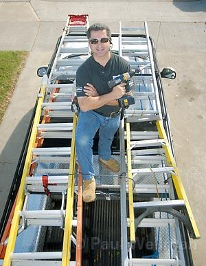 Jim Beltran of Jack of All Trades is ready to fix any household problem.