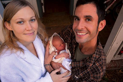 Meet Chlo» Bee, Ben and his wife Michelle's first child.