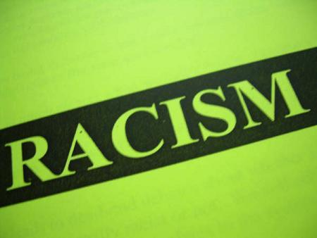 Racism poster