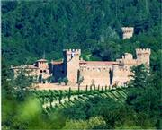 Castello di Amorosa from afar.