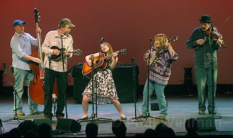 Audience members got a crash course in American history when Music from the Crooked Road hit the stage at Campbell Hall.