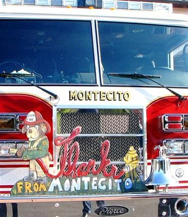 Thanks to Montecito Fire!