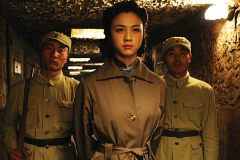 Shanghai under Japanese occupation during World War II forms the backdrop to this quintessentially Asian film, starring Wei Tang (center) in this emotionally complex telling of Eileen Chang's story about spies, lovers, and assassination.