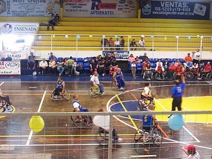 The Ensenada Special Olympics
