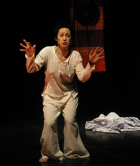 Genevieve Erin O'Brien's one-woman show explores spirituality, politics, sexual violence, and cultural identity.