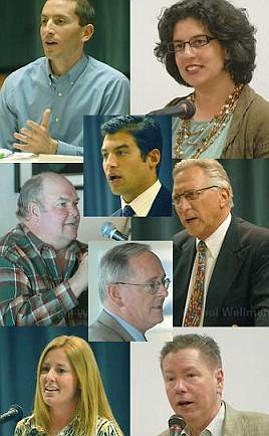 The candidates for City Council.