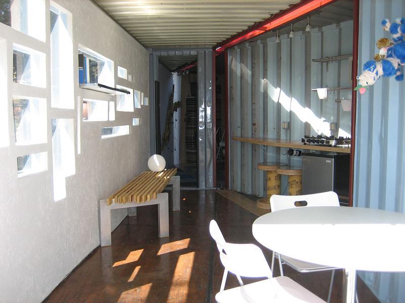 Beware the box - Container art studio ...