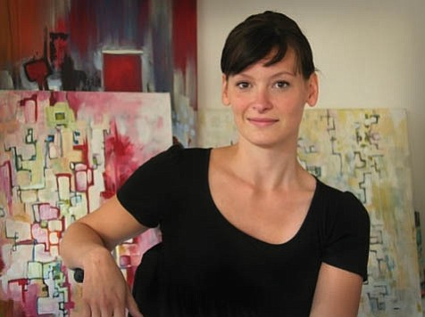 Look familiar? Painter Heather Mattoon is a much-appreciated member of Santa Barbara's arts and culinary communities.