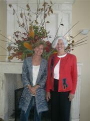 Nancy Salvucci and Sue Adams