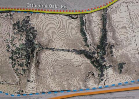 Bishop Ranch map (detail)