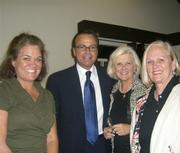 Rick Caruso's fan club includes Montecito's Nancy Kogevinas, Nancy Rea, and Mary Belle Snow.