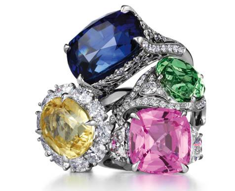 Get Your Rocks Off: Rings available at Tiffany & Co.