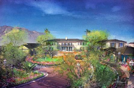 This is what the Miramar Hotel could look like if Rick Caruso's new plans are approved.