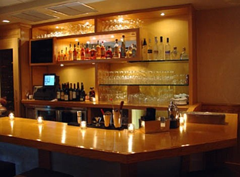 Family-owned Upstairs 2 has a spacious bar.