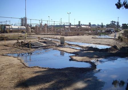 A look at the Tuesday, November 13, oil spill at Greka Energy's Santa Maria facility.