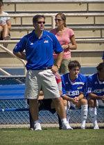 UCSB soccer coach Tim Vom Steeg