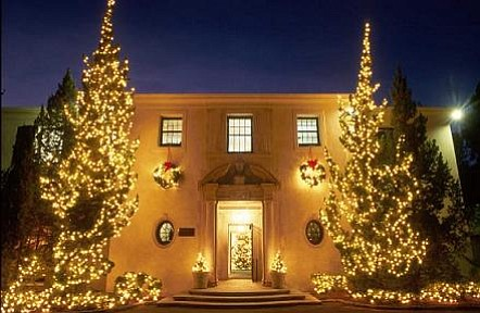 Westmont's Christmas tree lighting.