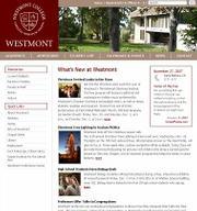 Westmont University's website