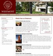 Westmont University&#39;s website