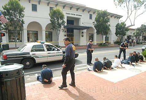 Youth detained following the stabbing