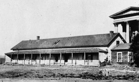 One of the first Protestant denominations in Santa Barbara, the Congregationalists, held services in the Kays adobe.