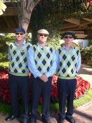 The valets at the Biltmore got new duds this week. From left are Dave Sothen, Tom Elder, and Jeff Deruiter.